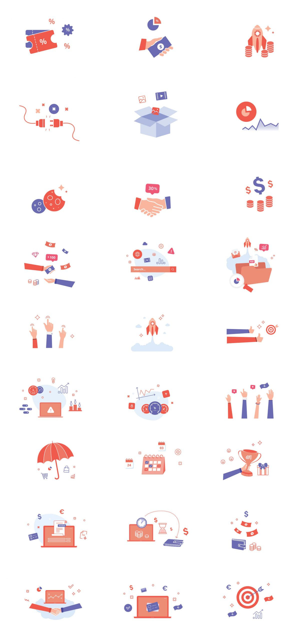 Colorful Icons Free Download - UI Freebies