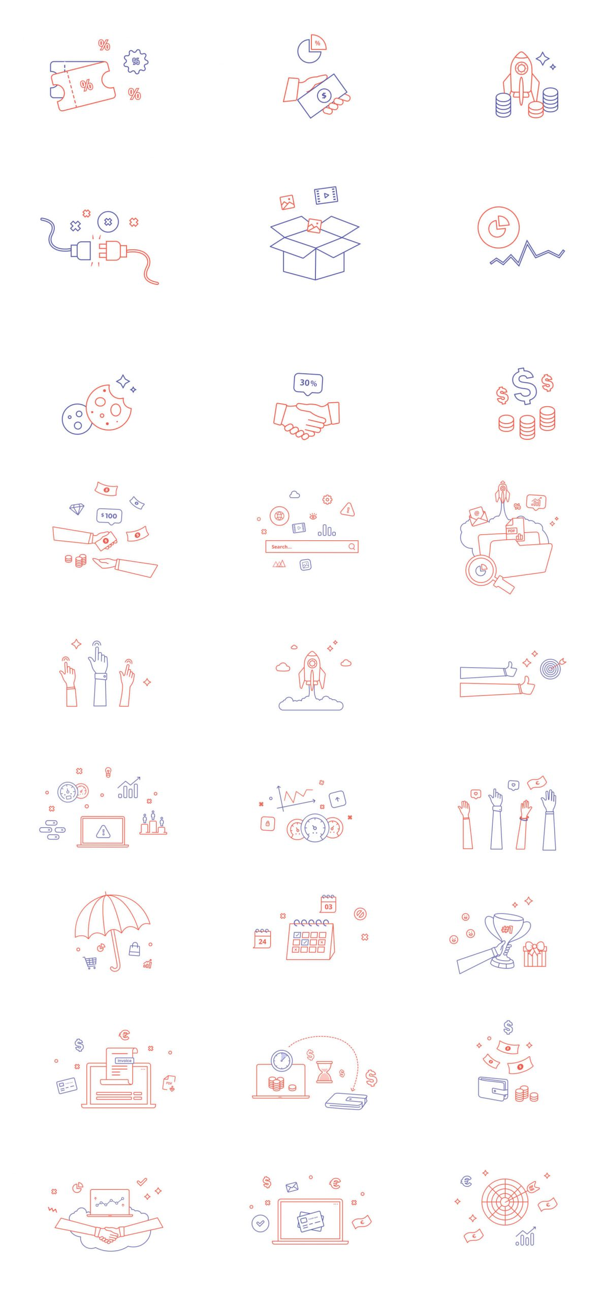 colorful icons free download 2 1 scaled - UI Freebies