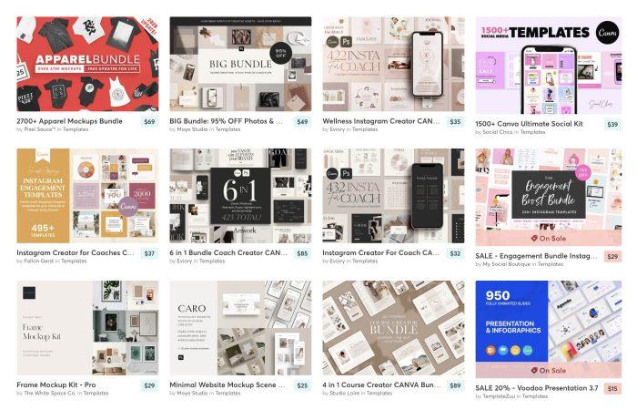 Creative Market Promo Code 2021 - UI Freebies