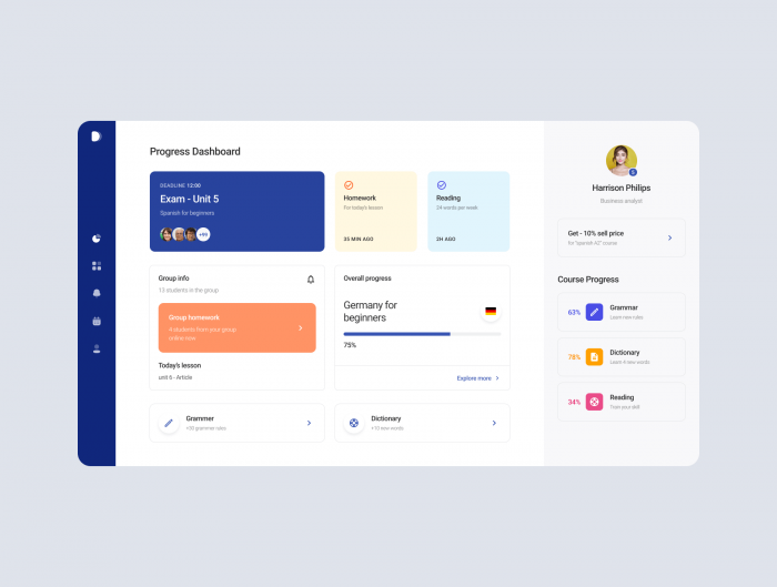 Figma Dashboard Template Free - UI Freebies