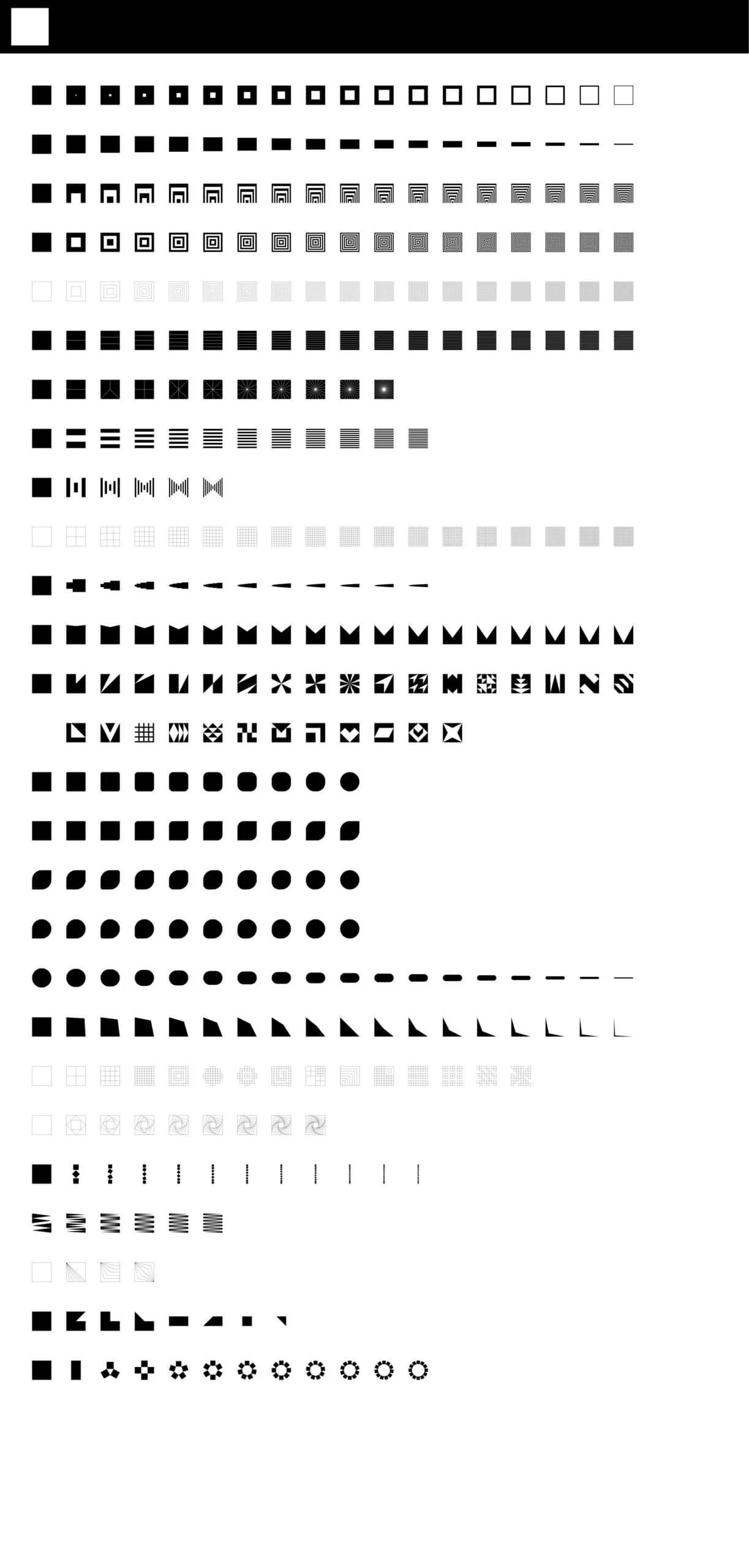 Geometric Shapes Free Download - UI Freebies