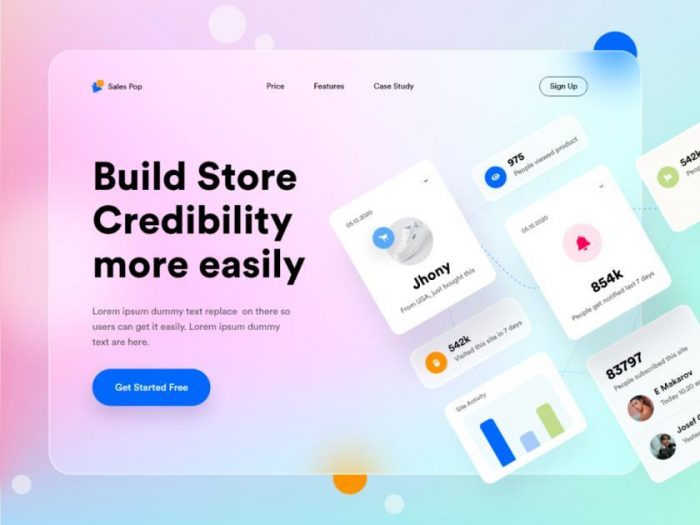 Top 5 UI Design Trend 2021 That You Should Know - UI Freebies