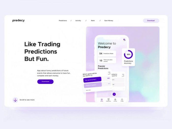 App Landing Page Design Free