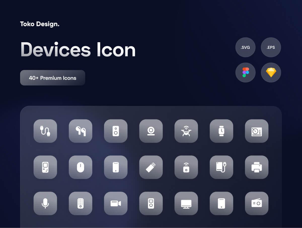 Device Icon Vector Free