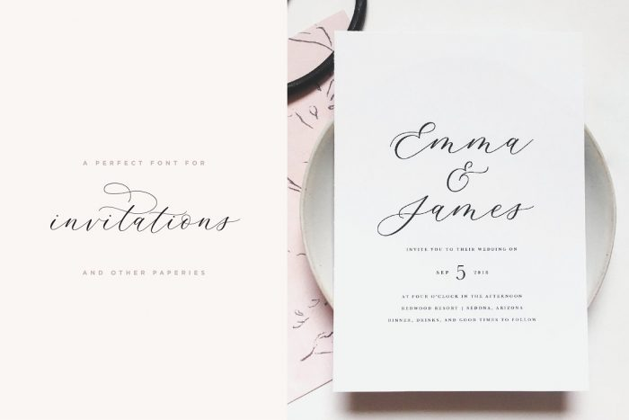 Adore Calligraphy Font Download - UI Freebies