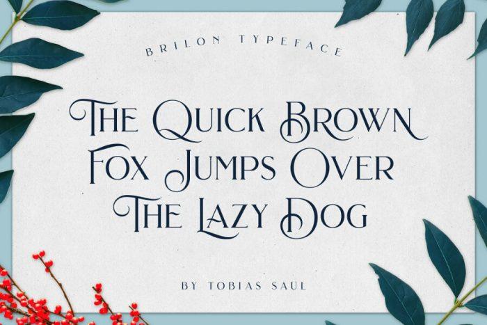 Brilon Font Download - UI Freebies