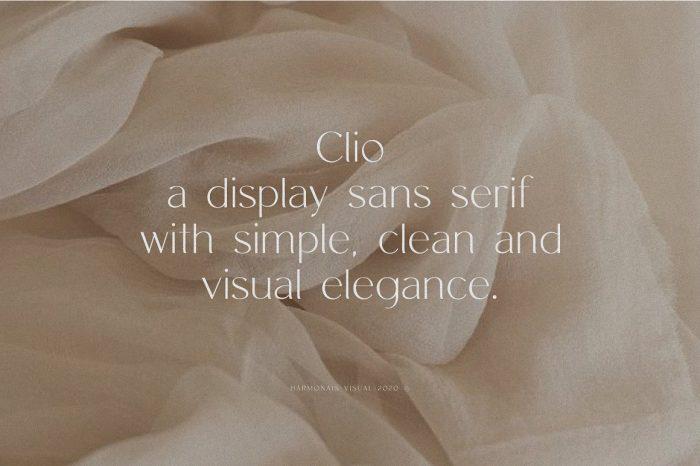 Clio Font Download - UI Freebies
