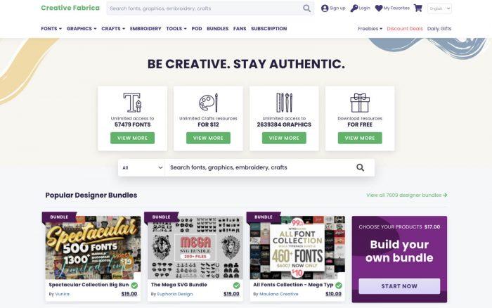 Creative Fabrica Coupon Code 2021 - UI Freebies