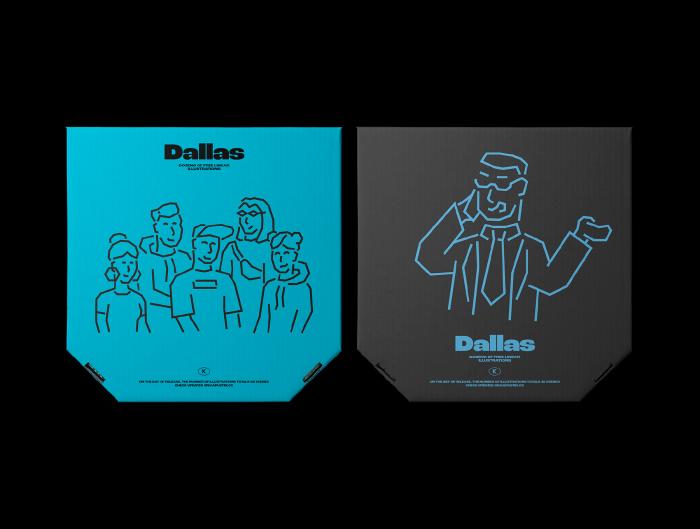 Dallas Illustrations Pack Free - UI Freebies