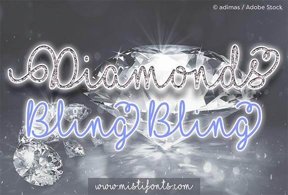 I Love Glitter Font Download - UI Freebies