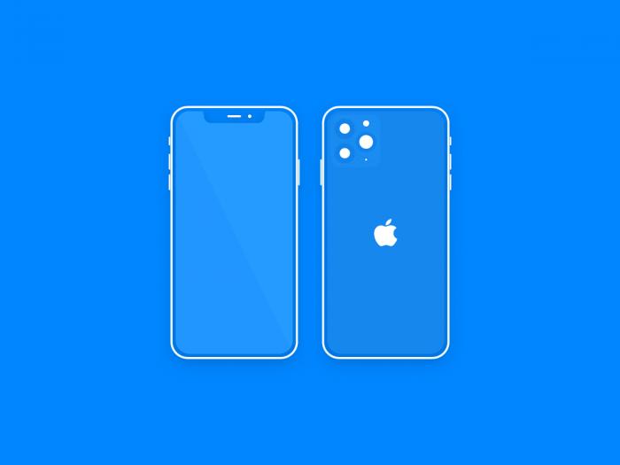 iPhone 11 Mockup Sketch Free