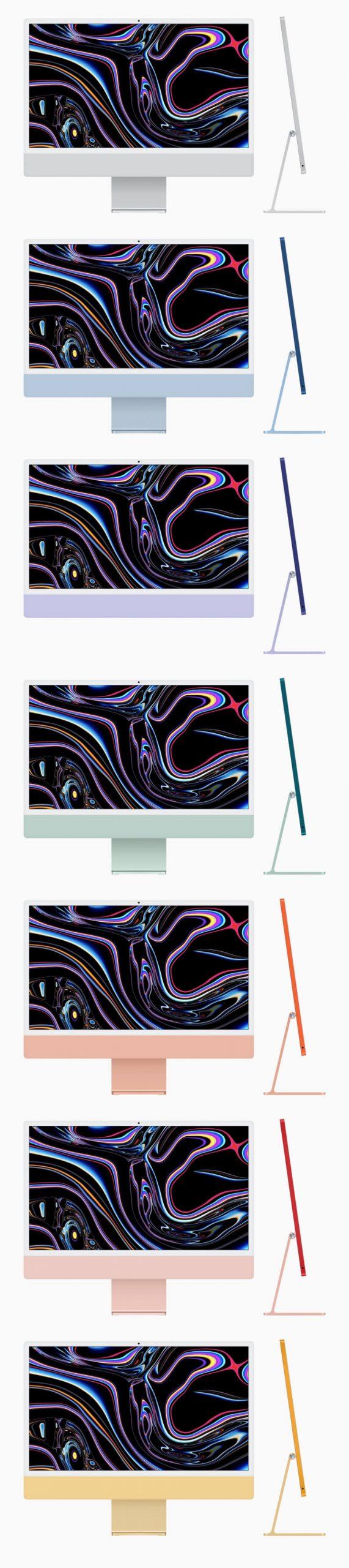 iMac 24 Inch Mockup Free - UI Freebies