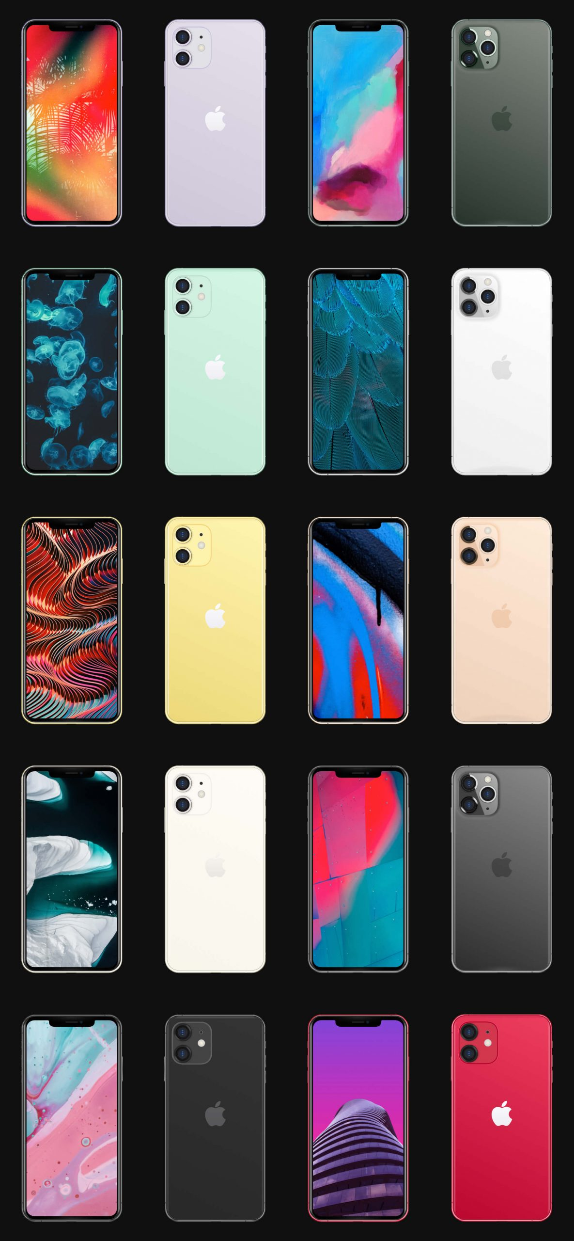 iPhone 11 Pro Max Mockup Free - UI Freebies