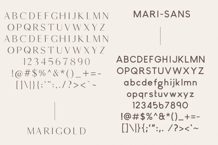 Marigold Font Download - UI Freebies