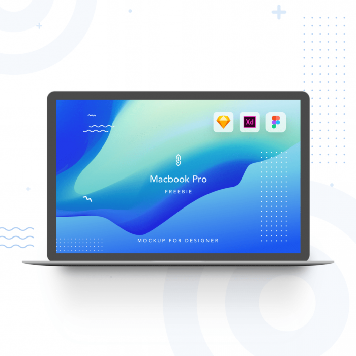 Mockup Macbook Free Download - UI Freebies