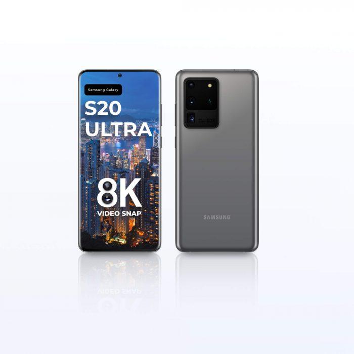 Samsung Galaxy S20 Ultra Mockup for Figma - UI Freebies