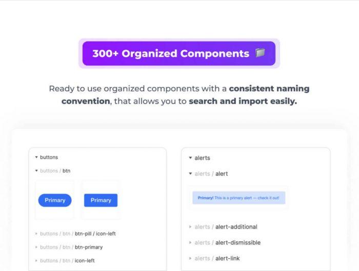 Figma Bootstrap UI Kit Free - UI Freebies