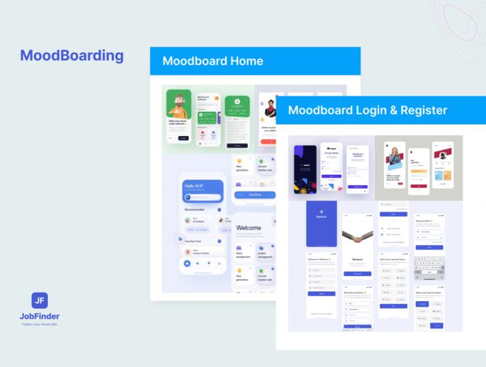 Job Finder IOS App UI Kit Free - UI Freebies