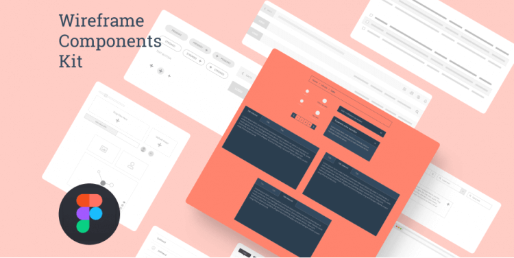 Wireframe Components Kit Free