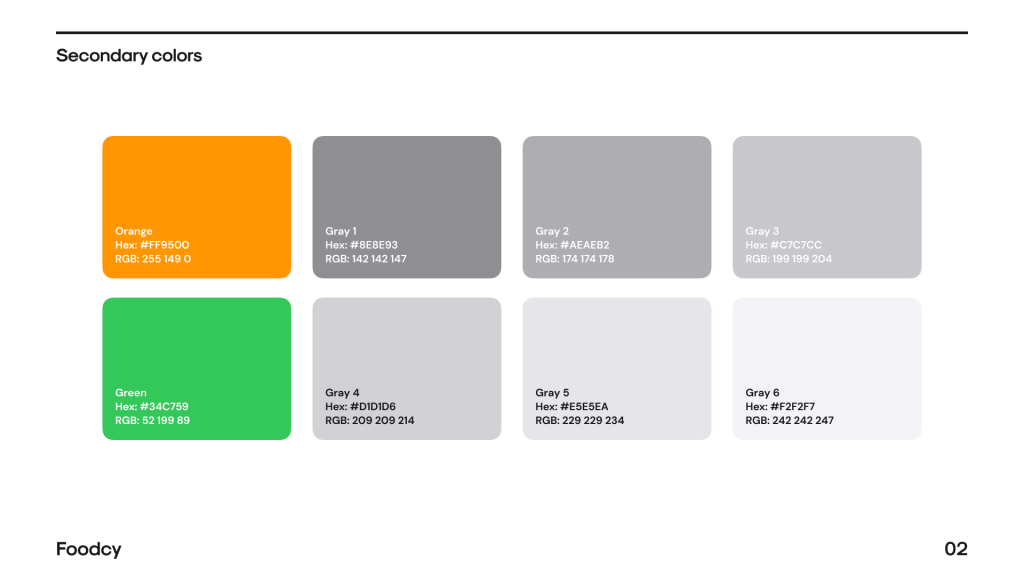 Product Style Guide Template Free - UI Freebies