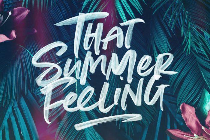 Summer Loving Font Download - UI Freebies