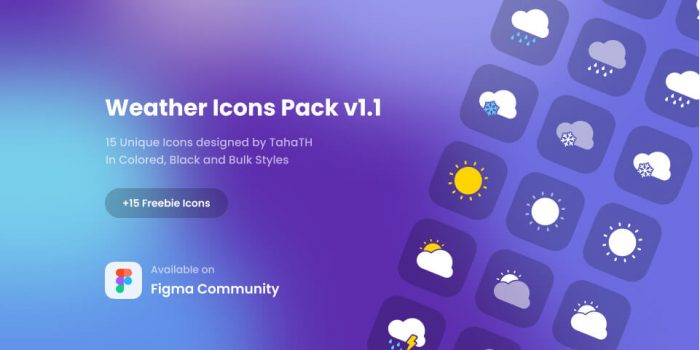 Weather Icon Pack Free